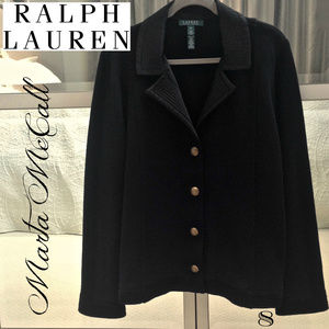 NWOT RALPH LAUREN 2X Heavy Cotton Knit Jacket Coat